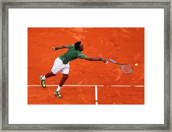 2015 French Open - Day Six Framed Print