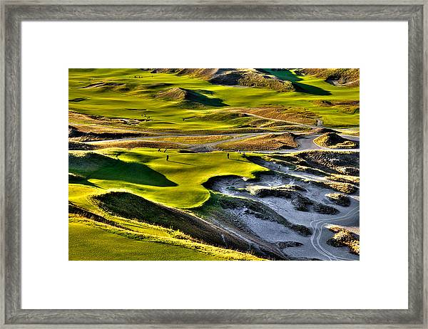 #9 At Chambers Bay Golf Course Framed Print