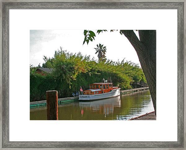 A Delta Hideaway Framed Print