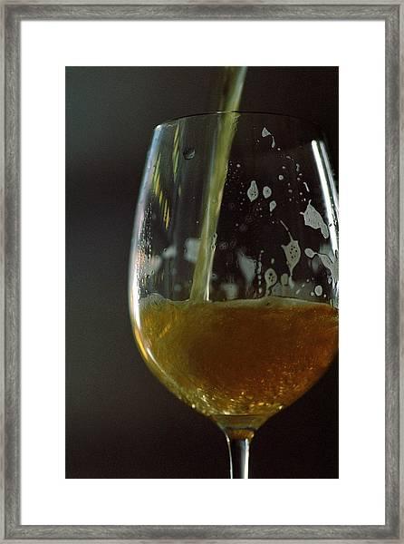 A Glass Of Beer Framed Print