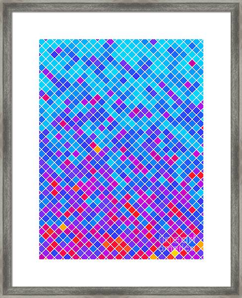 Abstract Background, Vector Without Framed Print