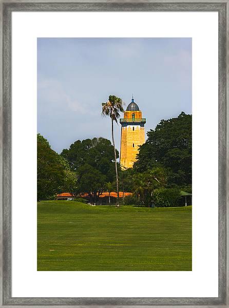 Alhambra Water Tower Framed Print