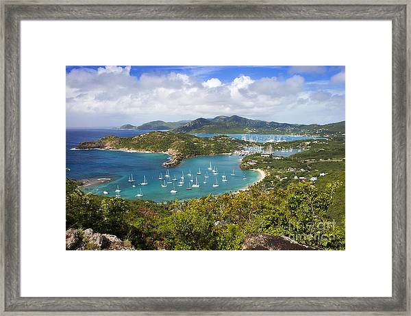 Framed Print featuring the photograph Antigua by Brian Jannsen