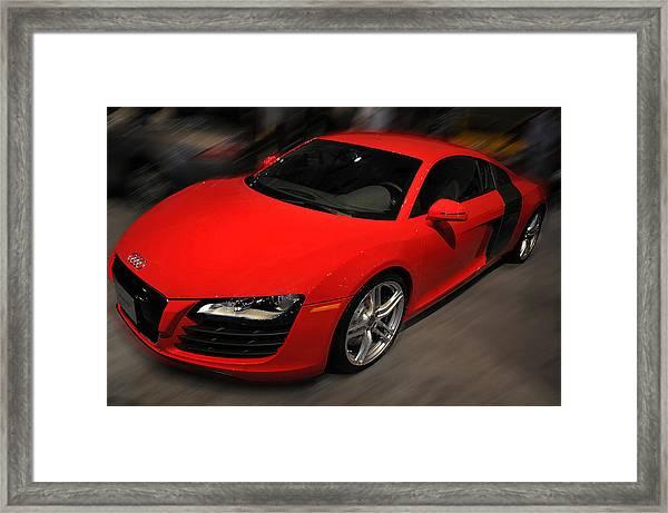 Audi R8 Framed Print