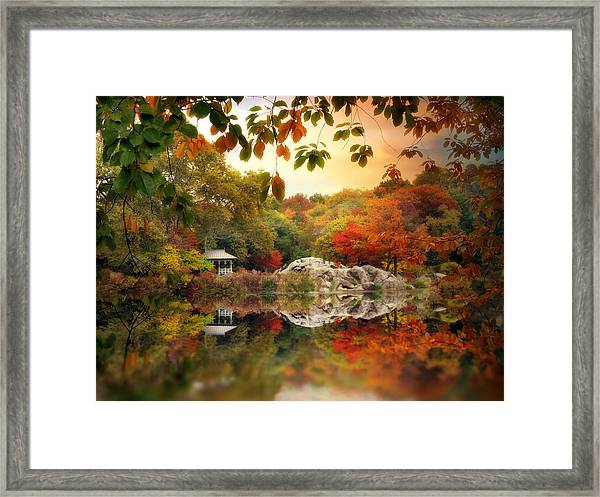 Autumn At Hernshead Framed Print