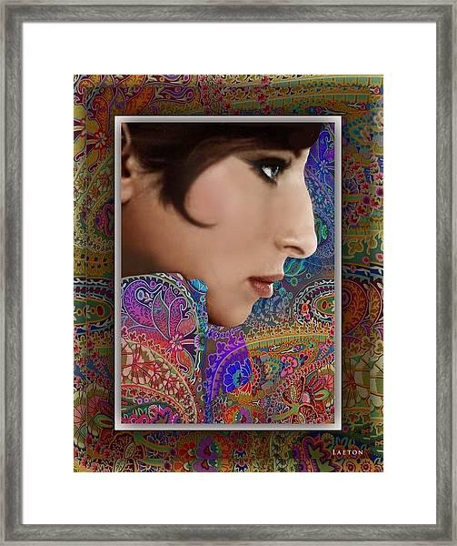 Barbra Framed Print