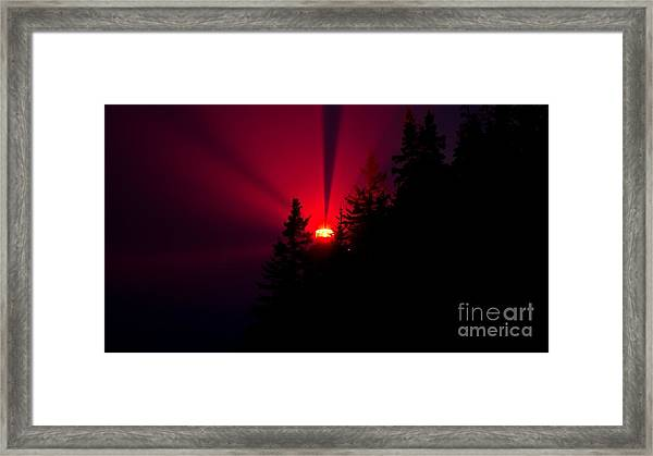 Bass Harbor Head Light.  Framed Print