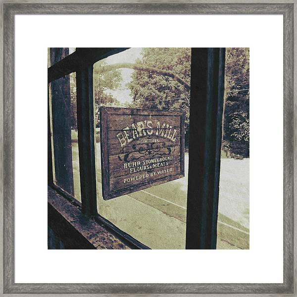 Bear's Mill Framed Print