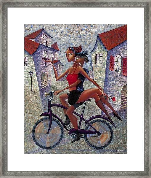 Bike Life Framed Print