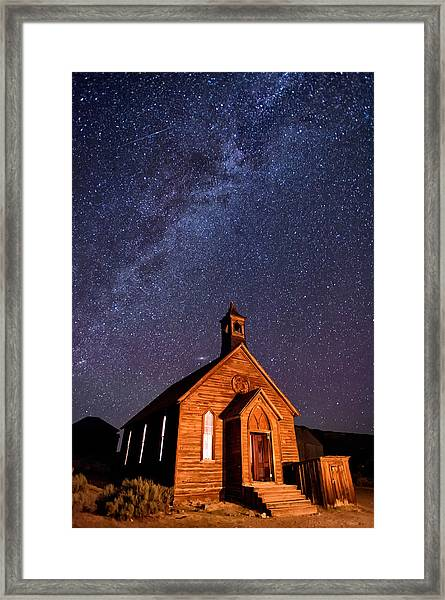 Bodie Church Framed Print
