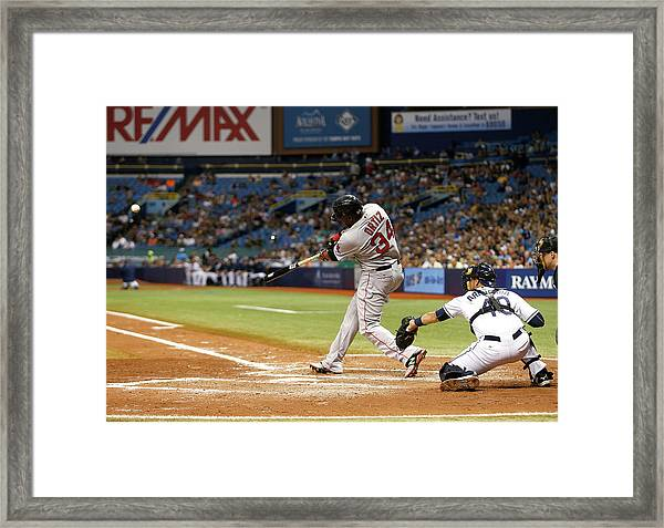 Boston Red Sox V Tampa Bay Rays Framed Print