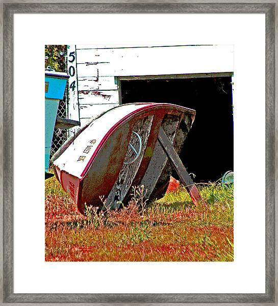Bottom Up Framed Print