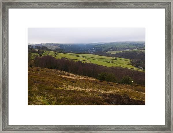 Calder Valley Framed Print