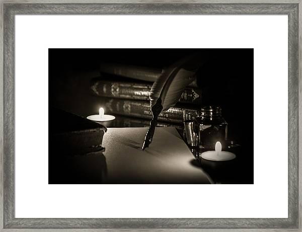 Candlelight Fantasia Framed Print