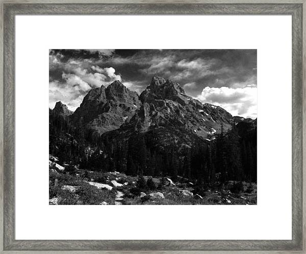 Cathedral Group From The Northwest Framed Print