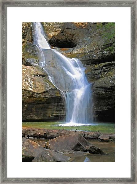 Cedar Falls Landscape  Framed Print