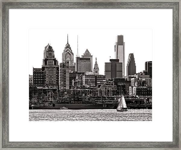 Center City Philadelphia Framed Print