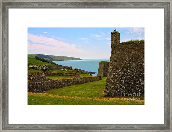 Framed Print featuring the photograph Charles Fort Kinsale by Jeremy Hayden