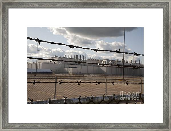 Closed Factory Framed Print