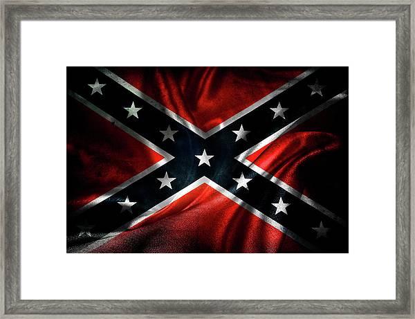 Confederate Flag 1 Framed Print