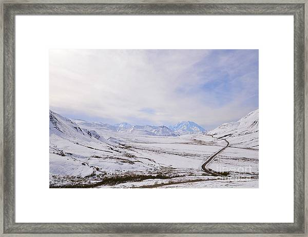 Framed Print featuring the photograph Denali by Kate Avery