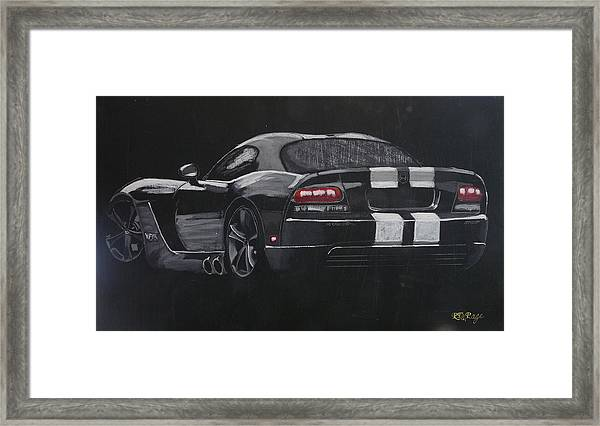 Dodge Viper 1 Framed Print