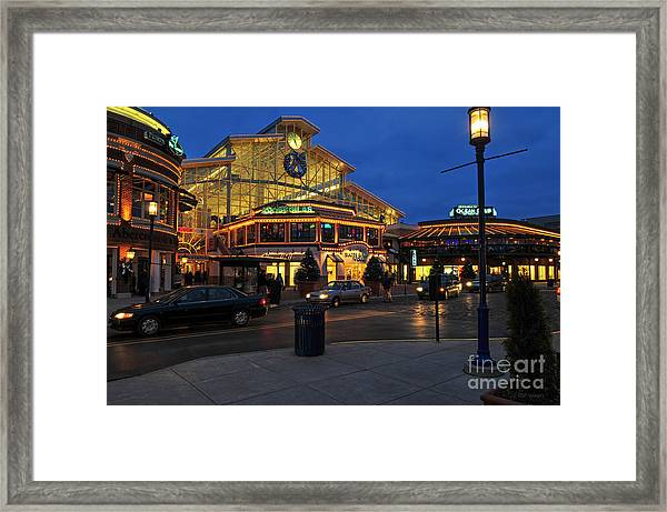 D65l-120 Easton Town Center Photo Framed Print