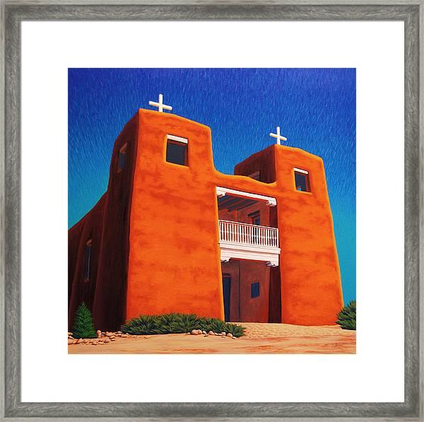 El Corazon Sagrado Framed Print