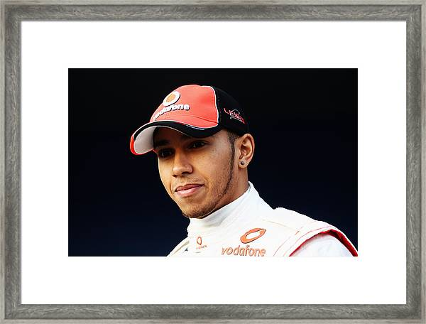 F1 Testing In Jerez - Day One Framed Print by Paul Gilham