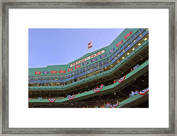 Fenway's 100th Framed Print