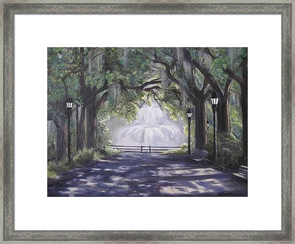 Forsythe Park Framed Print