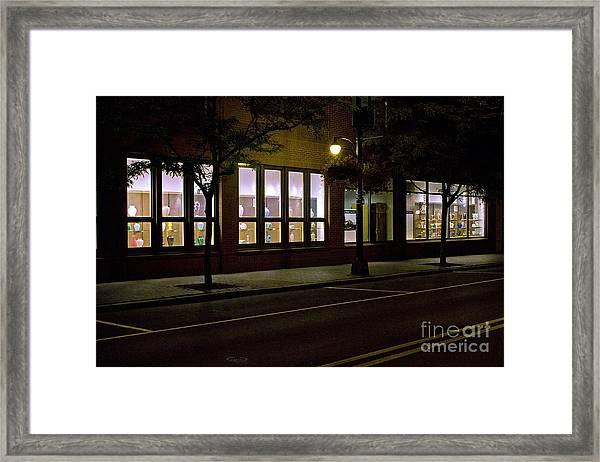 Frederick Carter Storefront 2 Framed Print