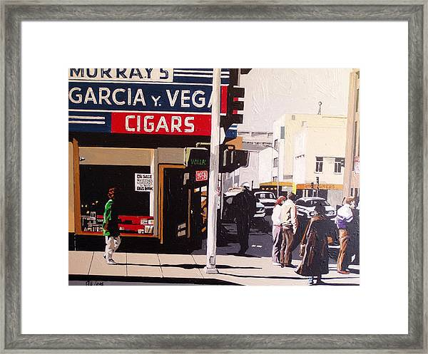 Garcia Y Vega Framed Print by Paul Guyer