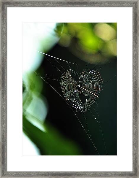 Garden Valentine Framed Print