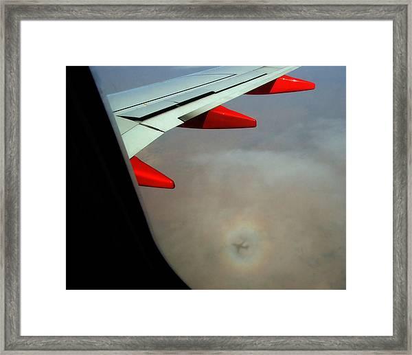 Ghost Plane Framed Print