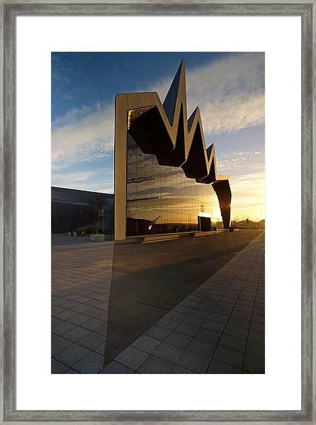 Glasgow Riverside Museum Framed Print