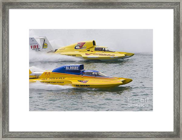 Gold Cup Hydroplane Races Framed Print