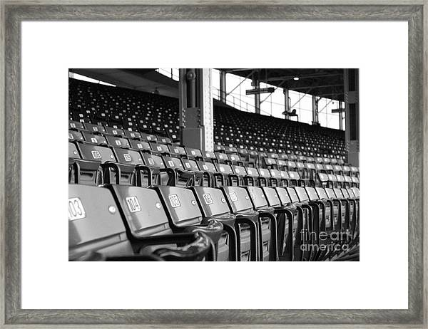 Good Seats Available... Framed Print