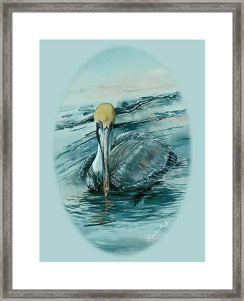 Guardian Of The Keys Framed Print