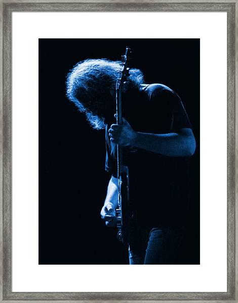 Jerry Blue Sillow Framed Print