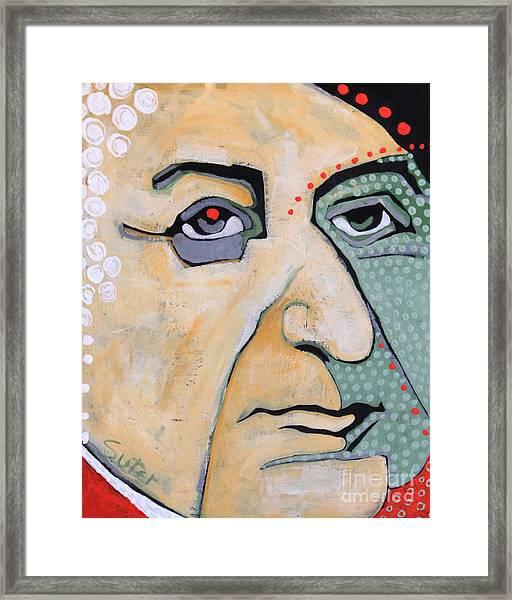 2.  John Adams Framed Print