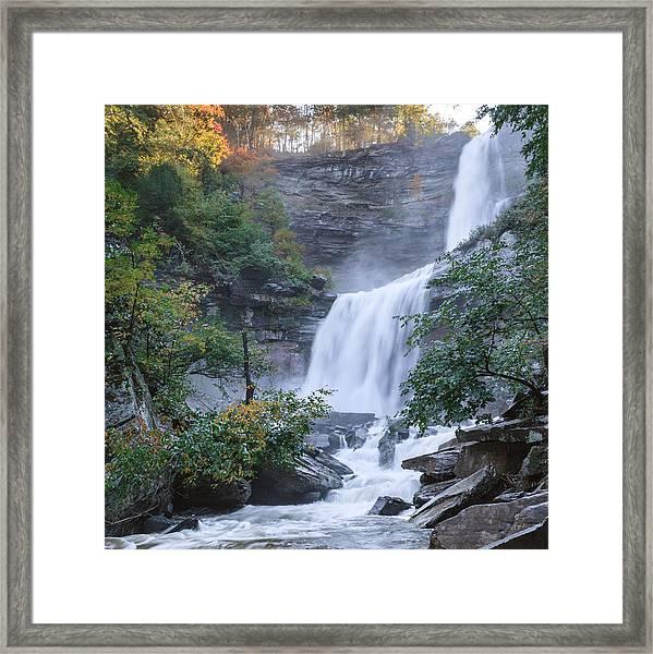Kaaterskill Falls Square Framed Print