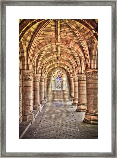 Kelso Abbey Framed Print