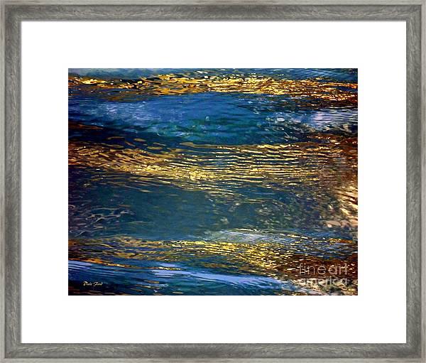 Light On Water Framed Print
