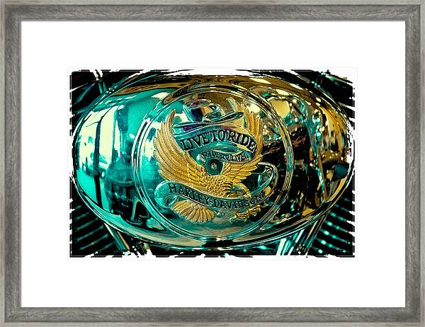 Live To Ride - Ride To Live Framed Print