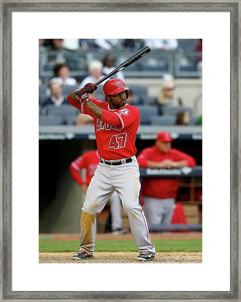Los Angeles Angels Of Anaheim V New Framed Print