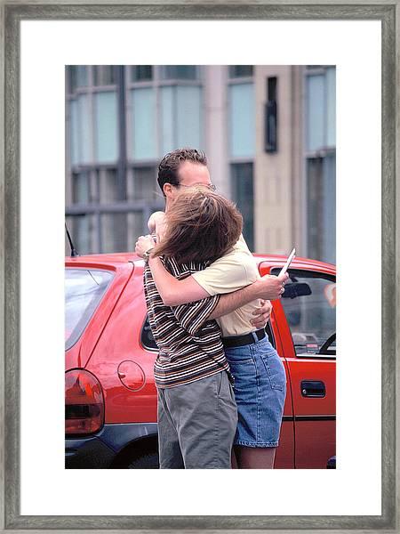 Love. Framed Print by Oscar Williams