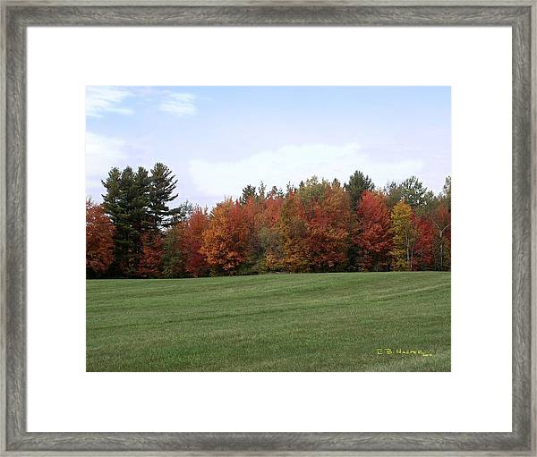 Lowell Vermont Framed Print