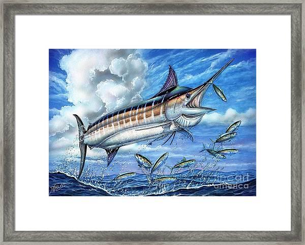 Marlin Queen Framed Print