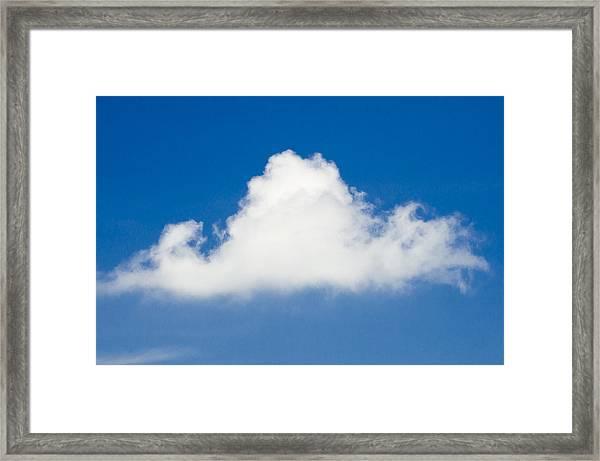 Marthas Vineyard Cloud Framed Print